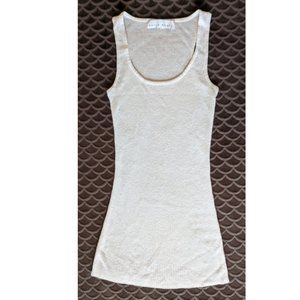 Gold shimmer tank top by Kelly Renee ~EUC~